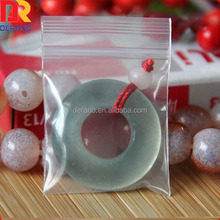 China alibaba transparent small cheap plastic pack LDPE zip lock bag for jewelry and gift