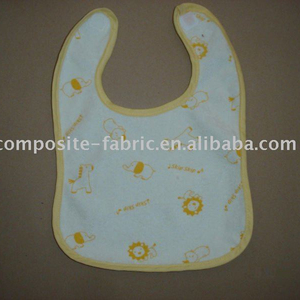 100%cotton baby bib