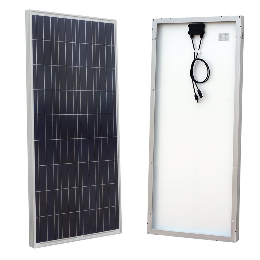 China high efficiency cheap price 150w poly solar panel for industrial use