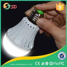 2016 New Factory price Rechargeable emergency led bulb light with built-in battery, energy bulb, energy efficient bulb