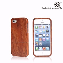 phone accessory Real wood for iphone 5s wooden leather case