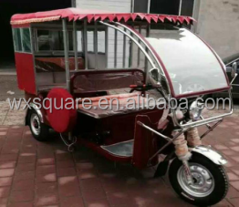 Electric rickshaw/trike/tuk tuk/pedicab easy bike with three wheel