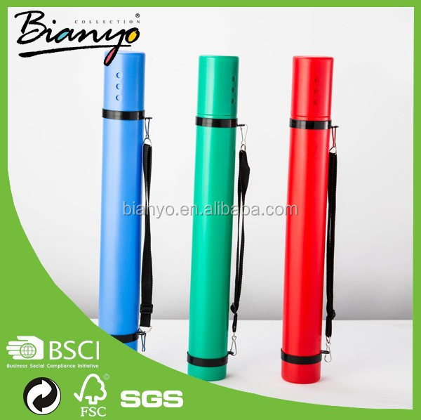 BN-918 blue green red color 3pcs drawing tube/scroll holder for aritist hot sale
