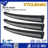 popular high class IP67K single row famous Y&T brand 240W led light bar, super bright light bar