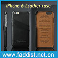 GENUINE leather case for iphone 6 cover case with 2 credit card holders