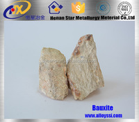 Rotary kiln metallurgical raw bauxite price grade calcined bauxite