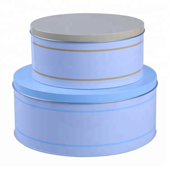 Round Chocolate Packaging Tin Box