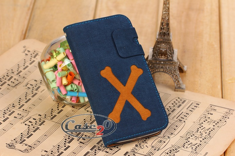 Case for Galaxy S4 X Mark Leather Flip Case Pouch