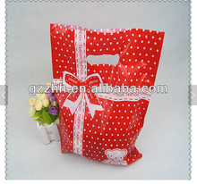 custom design logo printing foldable plastic bag recycling