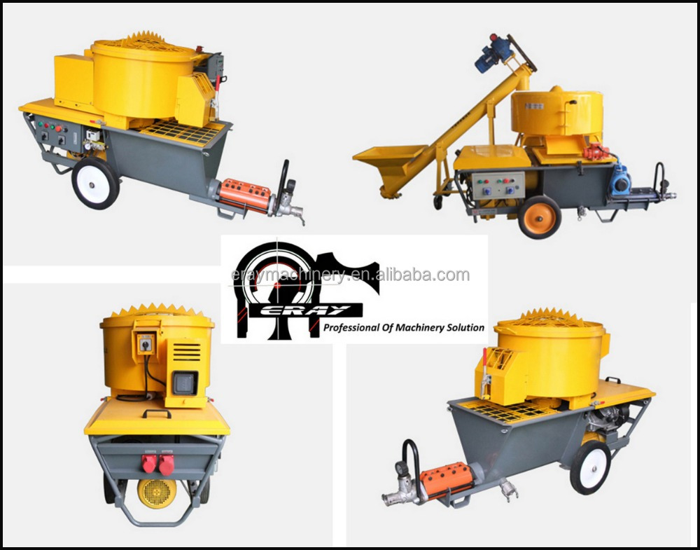 Large displacement ERAY-P70L mortar plastering machine & mortar spraying machine(cement-based)