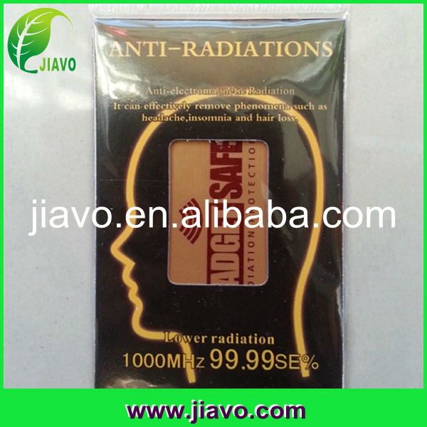 Healthcare mobile phone anti radiation patch