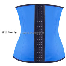 Black cotton slim shaper corset with gold skul in top selling products 2015