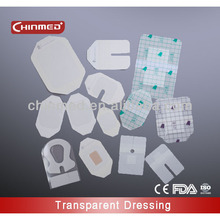 adhesive sterile wound dressing