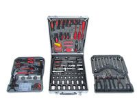 187pcs Germany Professional Kraft Mate Hand Tools Kits with Strong Aluminum Case