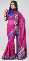 Designer Saree Design on Border