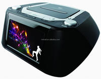 "Hot sale Portable DVD BOOMBOX with 7"" LCD TV"
