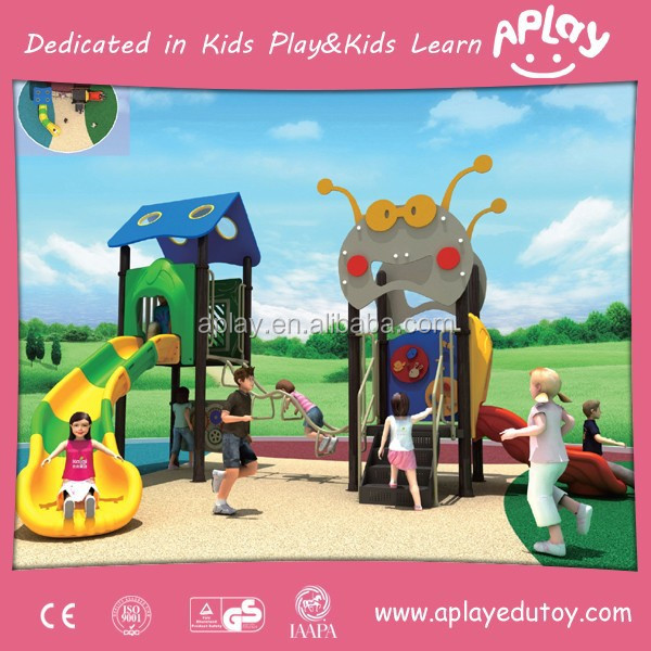 TUV Certificated outdoor playground kidergarden and nursery play equipment for kids playing games outside AP OP21203