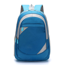 Factory produce customized cheap nylon waterproof kids school backpack