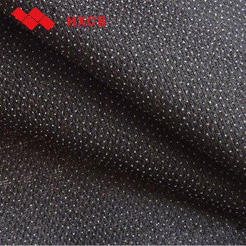 Double Dot Warp Knitting woven & weft Knit Fusible Interlining for garment