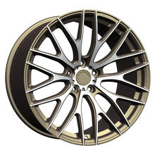 Concave Car Aluminum Alloy Wheel for Sale with Polished Lip(ZW-S090)
