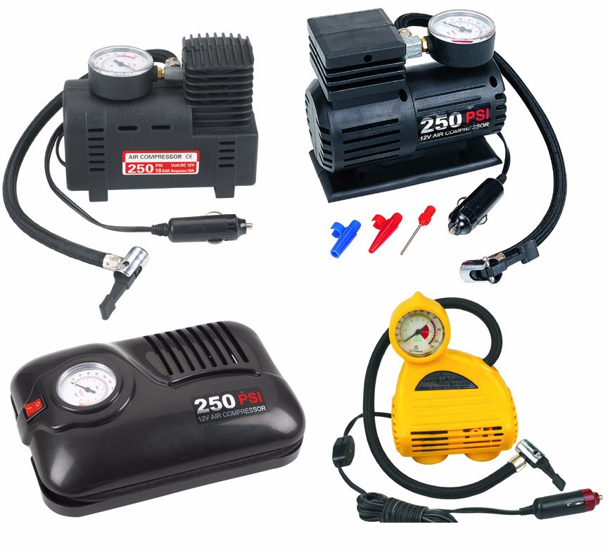 300PSI Portable Electric Mini 12V Air Compressor Pump Car Tire Inflator