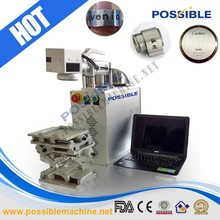 Hot selling Possible Brand Small size laser marking machine for bird band