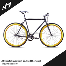 Well Sale Safety Item Classic Lady Iron Frame Single Fixed Gear Bike