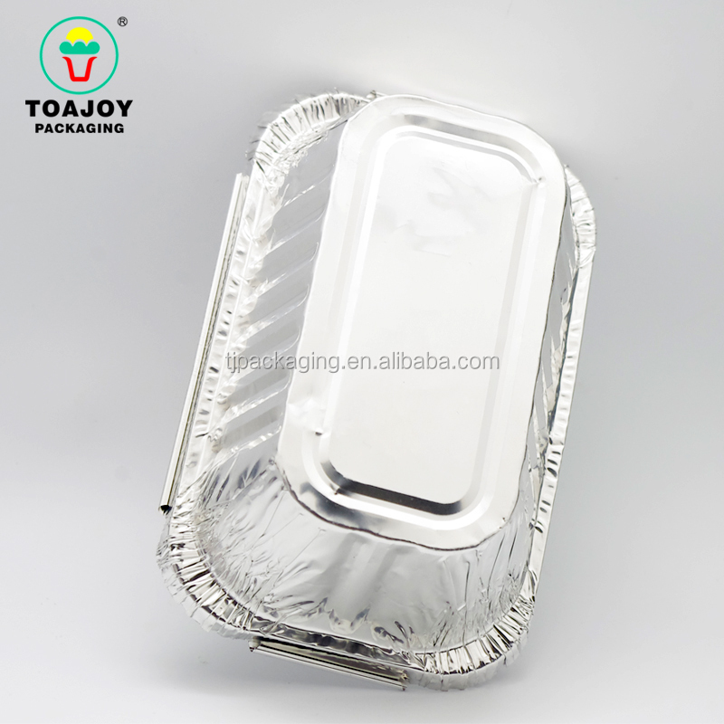 High Quality Disposable Food Packaging Aluminium Foil Containers Tray Pan