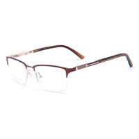 Acetate Temple Spring Hinge Classic Quality Glasses Frame For Men