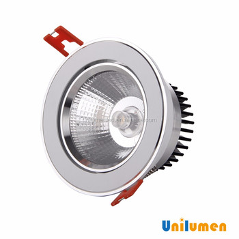 Hot!! 4500K NW 12W COB LED downlight