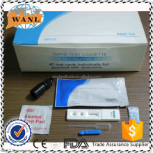 CE ISO Malaria pf / pv Antibody Malaria Rapid Diagnostic Test kit