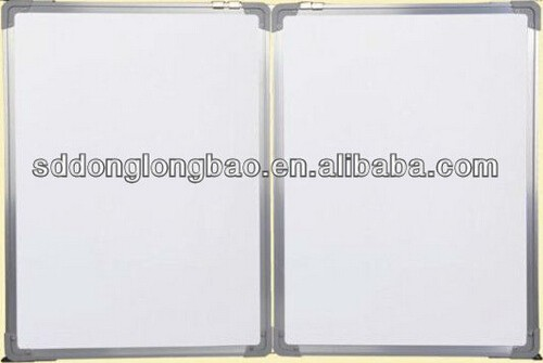 sliding greenboard whiteboard for classroom equipment school writing board / fold green board