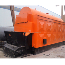 3 pass industrial ricehusk steam boiler for rice mill