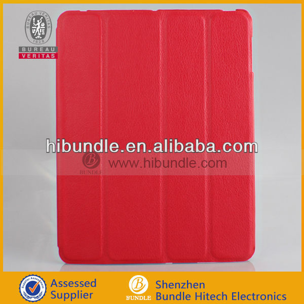 For ipad accessories, PU leather case for ipad 3