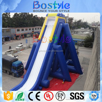 15m tall inflatable giant slide large inflatable hippo water slide for sale