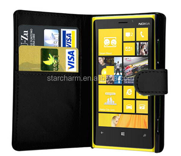 Classic Style Wallet Leather Case for Nokia Lumia 920