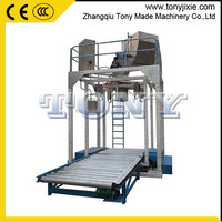 (M) High yield energy saving automatic biomass ton pellet bagging machine wood pellet ton packing machine for sale