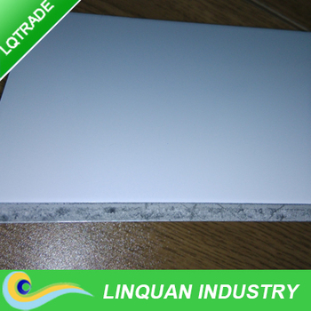 Large size one side matte aluminum composite panel