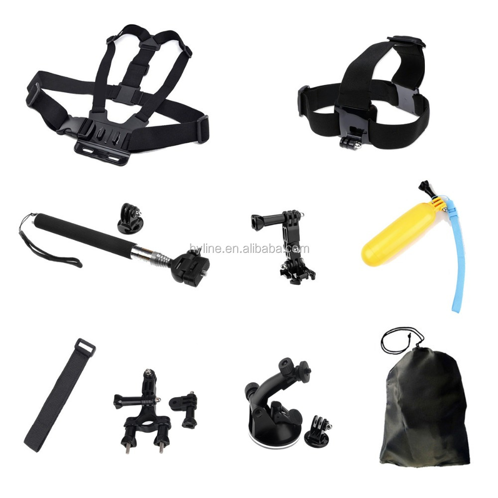 GoPros Selfie Stick Photography Go Pro Mount Set New Products Go Pro Accessories Kit