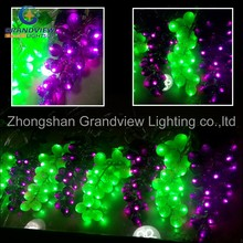 Beautiful LED light decoration Grape Christmas string lights