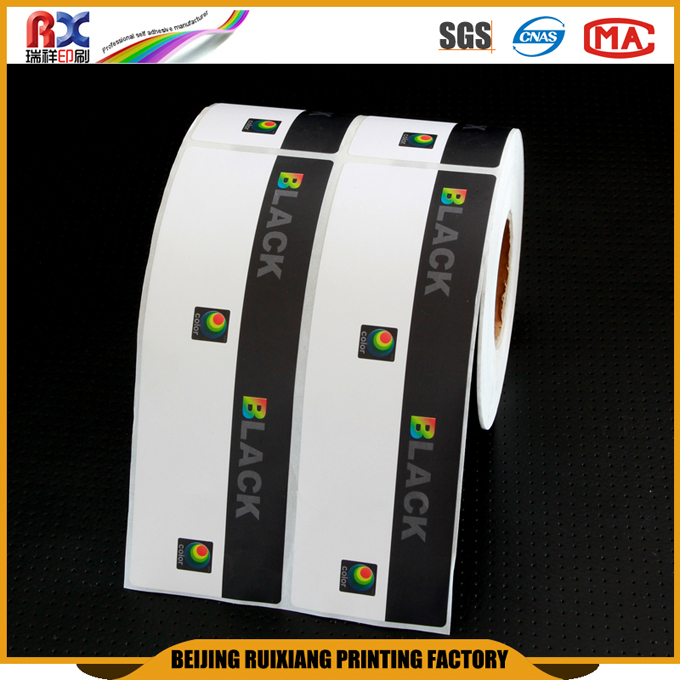 China supplier waterproof custom barcode sticker wholesale printing lables