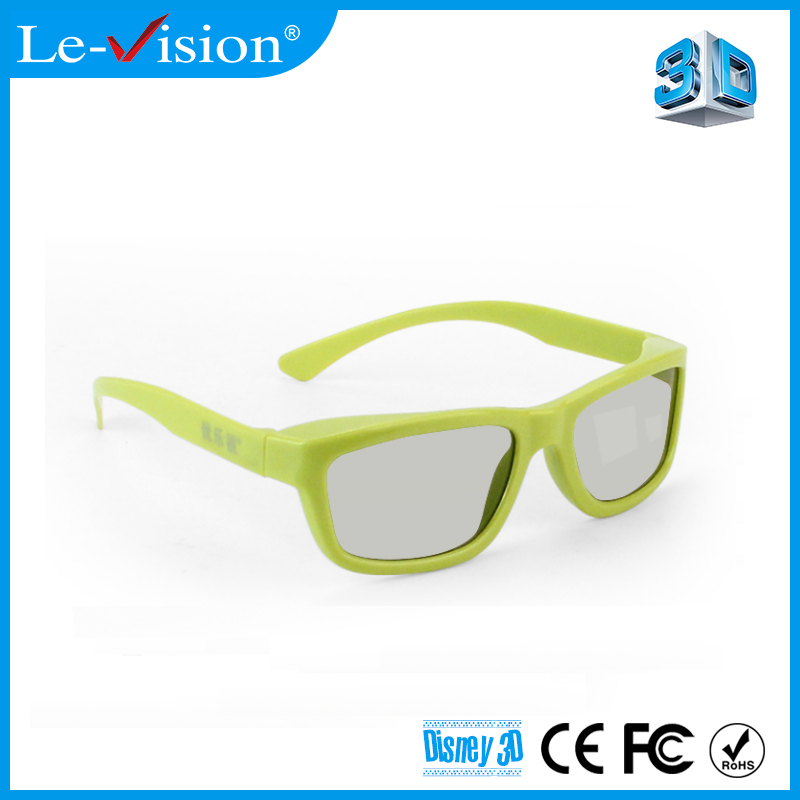 Classic Cheap Kino Light Projector Screen Cinema 3D Movie Spectacles Polarized Passive 3D Glasses for Theater 3D System