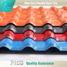Factory Supply Decorative Interlocking Roof Tiles Plastic Prices