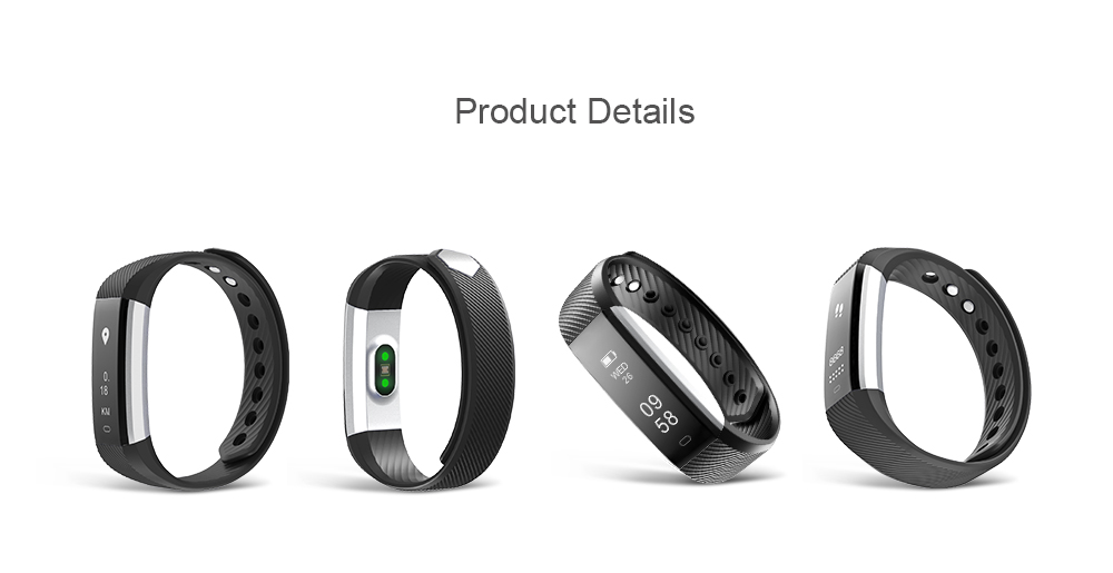 Shenzhen IDO hot selling IP67 waterproof fitness band with Veryfit App