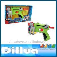 2015 New Plastic Eva Foam Dart Gun Toy Airsoft Pistol