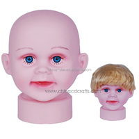 good quality cute baby mannequin head
