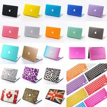 Laptop Matte Hard Case Cover + Keyboard Cover For MacBook Air Pro 11 13 15 '' inch