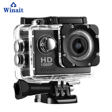 Winait 2017 hot sale sports camera A7 with 720P HD high quality resolution shutter control PC camera Loop recording