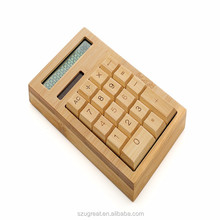 Supply OEM solar panel calculator in bamboo material with facotry price