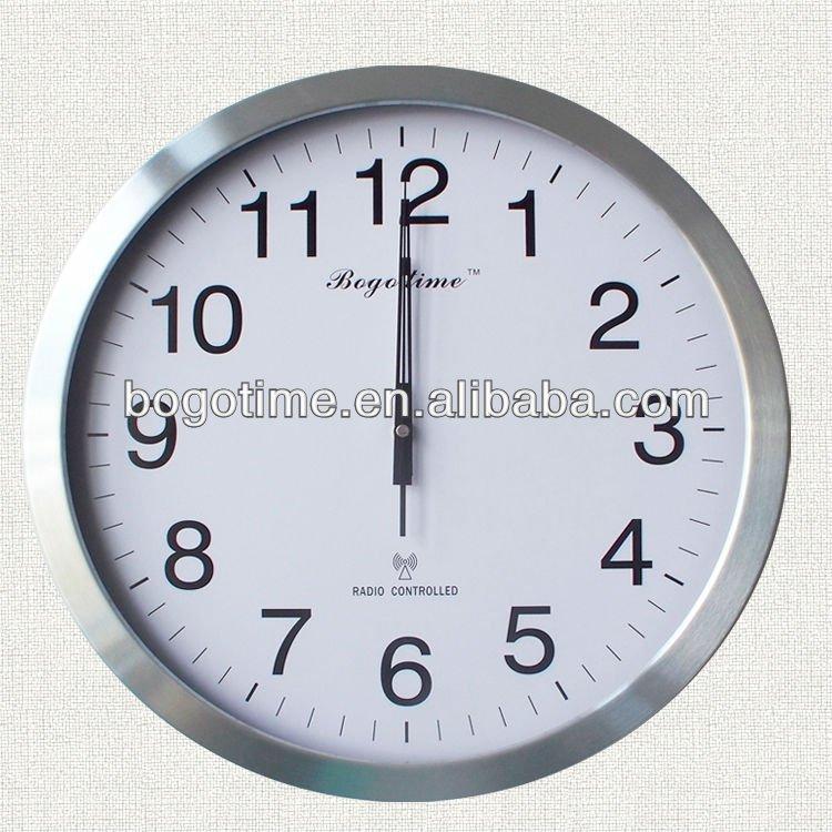 atomic radio controll wall clock for hotel buy radio